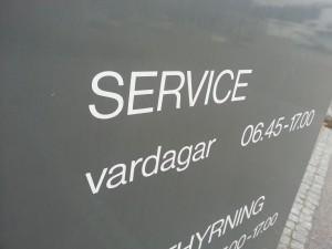 Vad är service egentligen?
