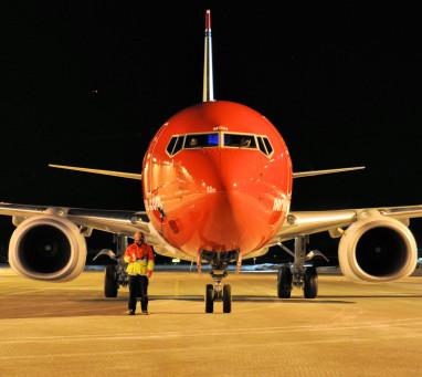 Norwegian-flygplan