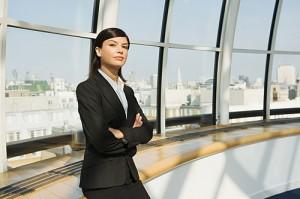 Självförtroende är viktigt när man driver företag