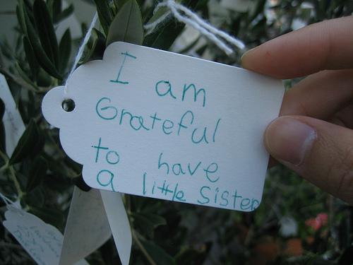 Tacksamhet är viktigt att praktisera