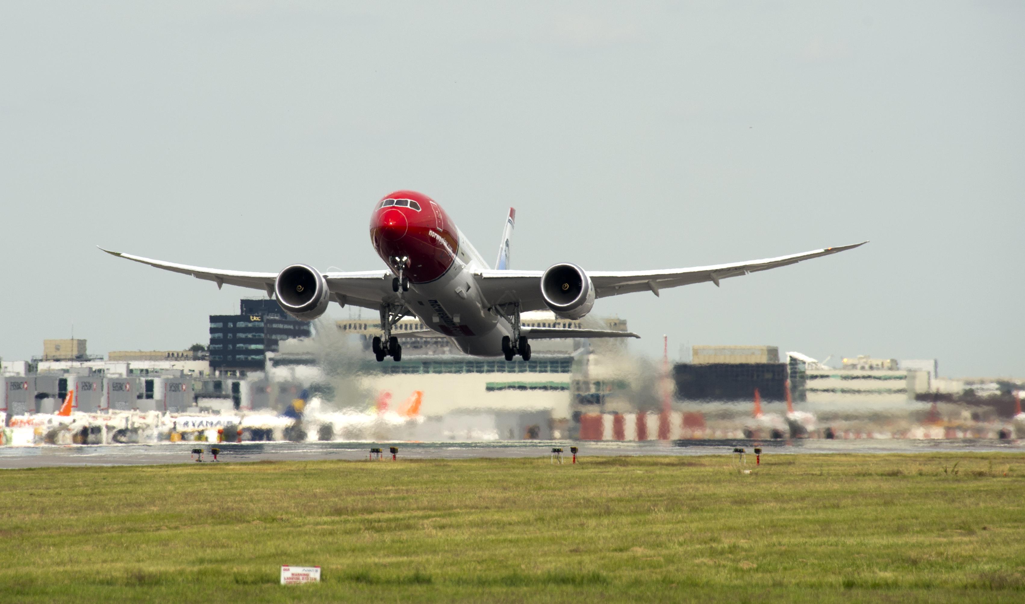 flygplan Norwegian